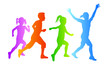 Kinder beim Laufen - 3