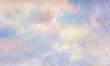 Leinwandbild Motiv himmel malerei leinwand