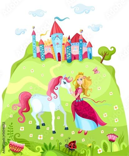 Montage in der Fensternische Pony princess