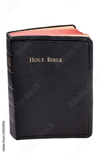 Holy Bible isolated on white
