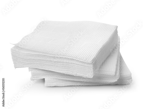 Fotografie, Obraz  Paper napkins