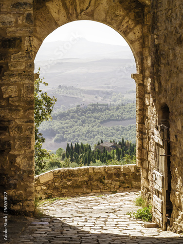 Foto op Canvas Toscane Tuscany