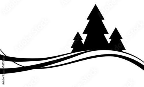sylwetki-drzew-czarne