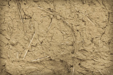 Background Of The Mud Wall