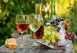 Leinwandbild Motiv Weinprobe
