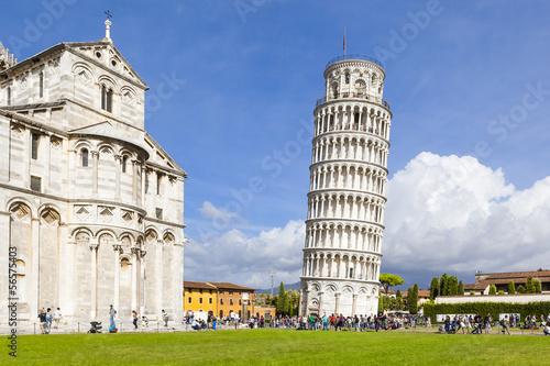 Obraz na plátně Piazza Miracoli Pisa
