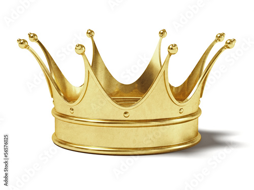 Gold crown #56576025