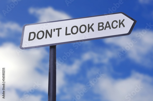 Foto  Don't look back
