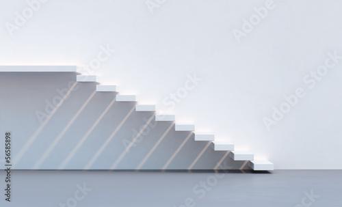 Foto op Plexiglas Trappen minimalism style stairs