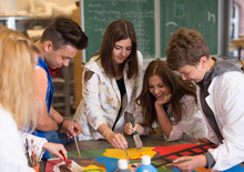 Kunstunterricht In Der Schule