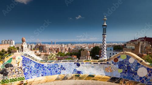 Papiers peints Barcelona Park Güell