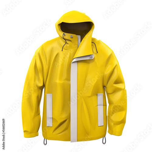 Fotografie, Tablou  Yellow Rain Coat