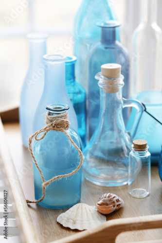 Foto-Plissee - Bottles (von Alena Ozerova)