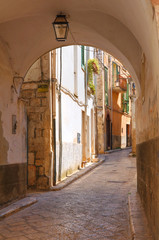 Fototapeta Alleyway. Conversano. Puglia. Italy.