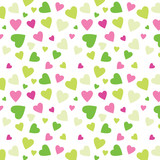 Cute background with hearts