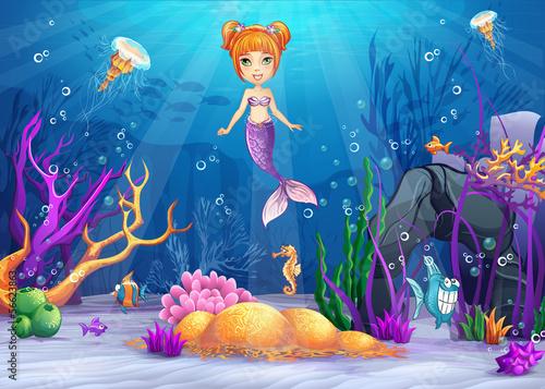 ilustracja-podwodnego-swiata-zi-syrena