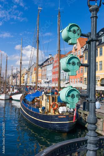 Photo  Nyhavn in Copenhagen, Denmark