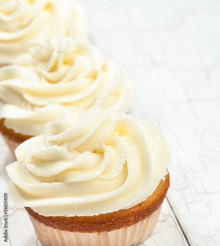 Photo  Vanilla Cupcakes