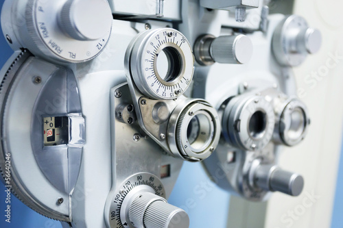 Fotografía  instrument for optometry