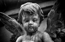 Graveyard Angel Statue