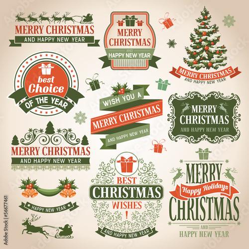 Christmas collection плакат