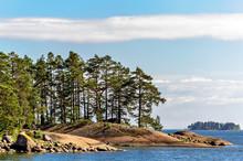 Islands In Finland Gulf