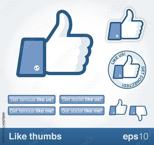 Fotografía  Like thumb