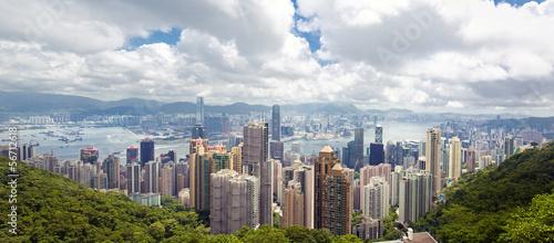 Poster Hong-Kong Hong Kong island