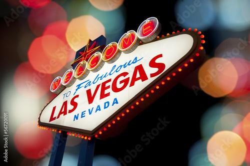 Foto op Aluminium Las Vegas Las Vegas Sign
