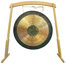 Traditional Oriental Gong Isol...