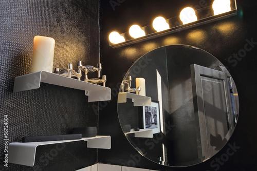 Obraz miroir salle de bain - fototapety do salonu