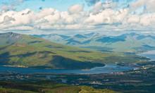 View From The Peak Of Ben Nevis