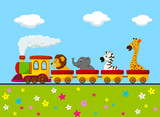 Animal train