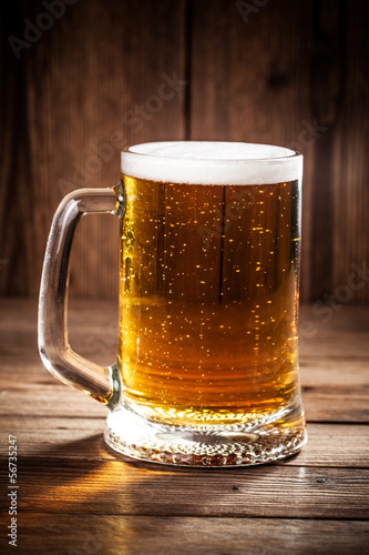 Fotografia, Obraz Mug of beer