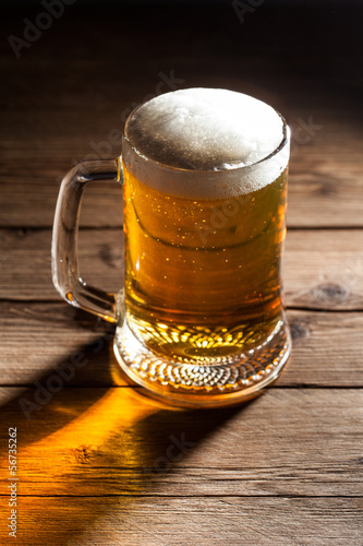 Photo  Mug of beer