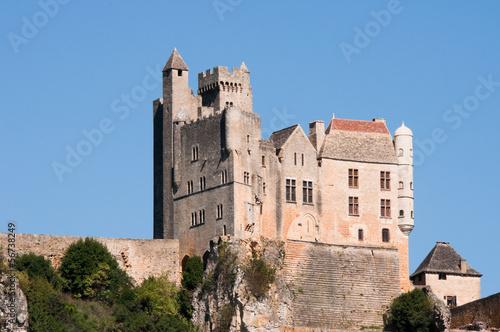 Poster Artistiek mon. Castle of Beynac, Dordogne (France)