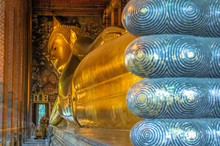 Reclining Buddha, Wat Pho, Ban...