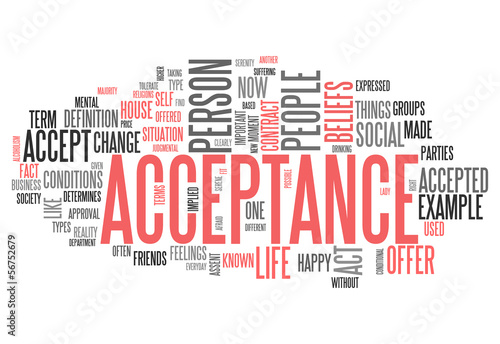 word for acceptance
