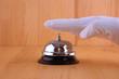 Ringing reception bell