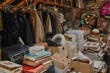 Old Objects In An Attic In Nor...
