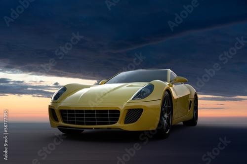 Fototapeta premium Samochód sportowy