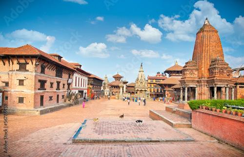 Staande foto Nepal Bhaktapur Durbar Square, Kathmandu valey, Nepal.