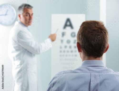 Fotografía  Eye exam