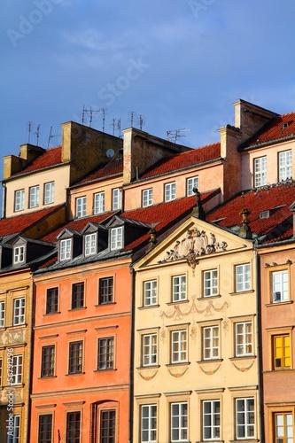 Poster Brugge Warsaw, Poland - UNESCO World Heritage Site