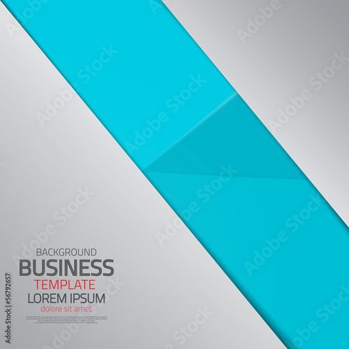 Fototapety, obrazy: Abstract business template. Vector