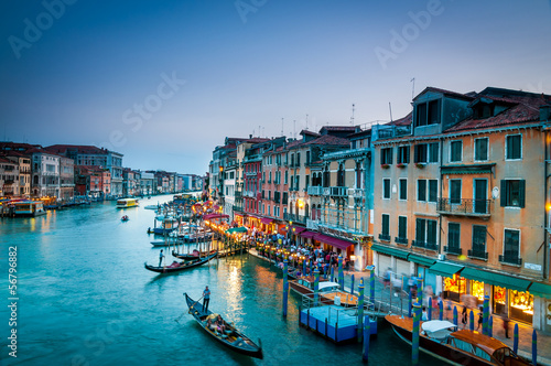 Poster Venice 221- Grand Canal venice Colorful