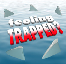 Feeling Trapped Words Shark Fi...