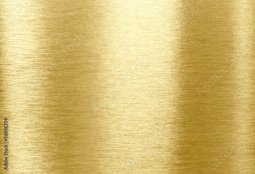 Photo sur Toile Les Textures Gold shining metal texture background