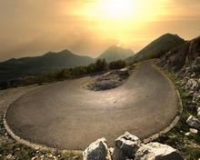 Mountain Hairpin, Montenegro