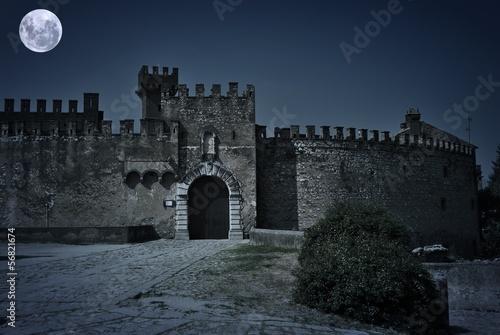 Foto  Castello Lancellotti - Lauro - Avellino - Notturno